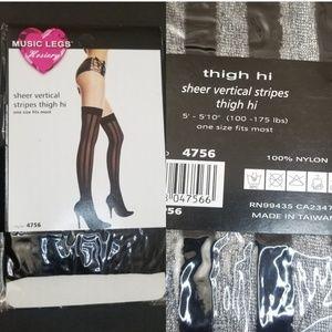 Women's thigh high stockings
